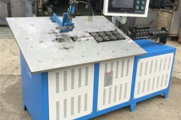 panas penjualan otomatis kabel baja 3d membentuk mesin cnc, harga mesin lentur kabel 2d