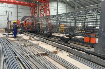 paling rega gilingan kabel jaringan bolong roll, Reinforcing kreteg lapisan welder diameteripun 500-2000mm