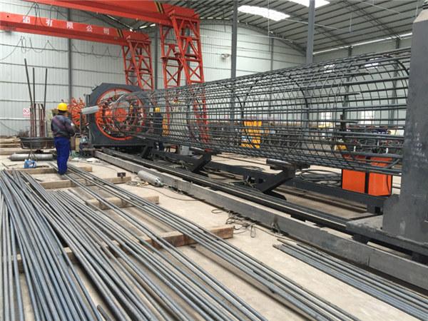 Renda paling apik dikepang mesin bolong roll mesin, Reinforcing kawat lapisan welder diameteripun 500-2000mm