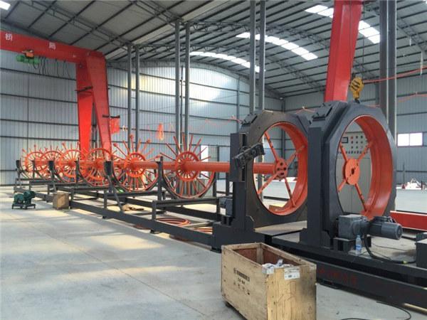 cnc steel cage welding machine steel roll seam welder use for building