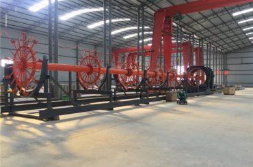 Konstruksi Pile sage welding machine seam welder with ISO