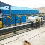 Hot sale vertikal rebar double bender, rebar bender tengah, otomatis rebar bending machine