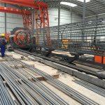 digawe ing china operasi prasaja operasi awet lan kuat kualitas welding baja rebar sangkar mesin lan nguatake kandhang nggawe